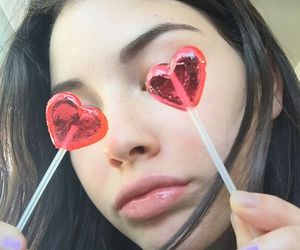 girl, heart, and alternative image