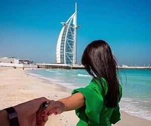 Dubai, love, and couple image
