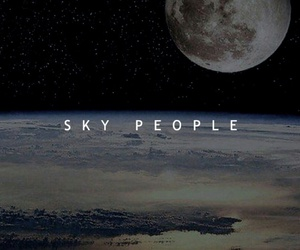the 100 and sky people image