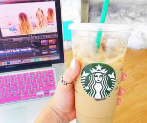 starbucks, alisha marie, and coffee image