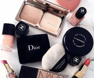 makeup, dior, and mac image