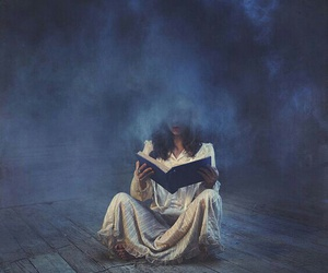 book, blue, and Dream image