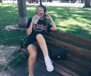 boston, chanel, and handbag image