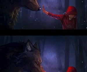 love, werewolf, and teen wolf image