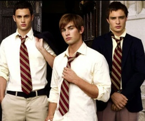 gossip girl, nate archibald, and chuck bass image