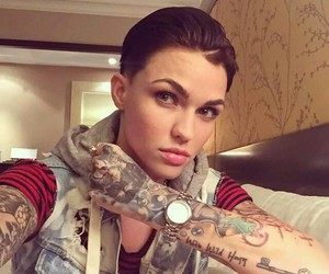 tattoo, ruby rose, and oitnb image