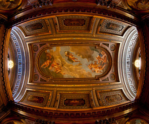 architecture, ceiling, and fisheye image