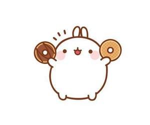 donuts, cute, and kawaii image