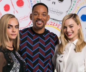 cara delevingne, suicide squad, and will smith image