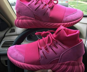 dope, sneaker head, and hot pink image