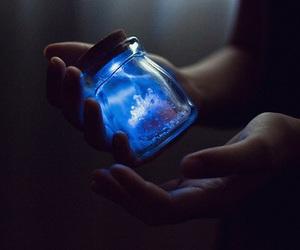 blue, magic, and light image