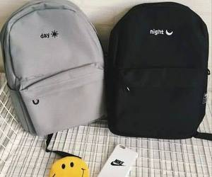 backpack, fashion, and night image
