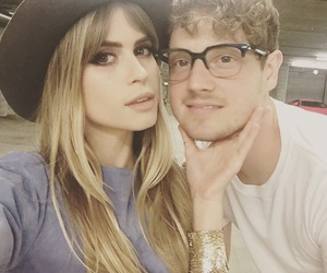 carlson young, foster the people, and isom innis image
