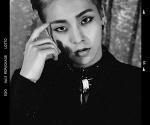 black and white, kpop, and lotto image