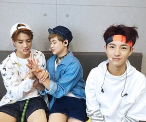 nct dream, renjun, and chenle image
