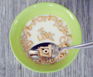 breakfast, still life, and cereal image