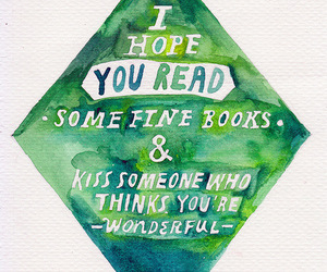 book, kiss, and quotes image