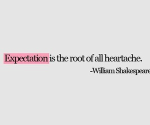 quotes, expectations, and heartache image