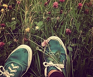 nature, shoes, and summer time image