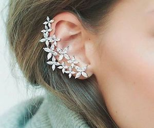 ear, style, and diamond image
