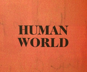 orange, human, and world image