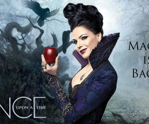 once upon a time, regina, and magic image