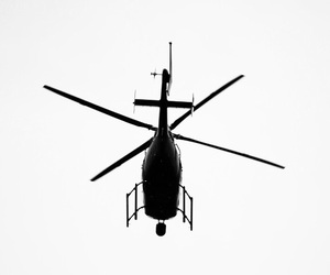 black, helicopter, and white image