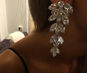 bling, pretty, and diamond image