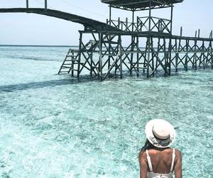 white fashion, photography inspiration, and daydream island image