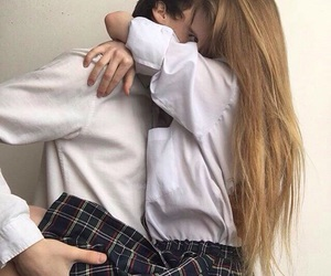 couple, tumblr, and love image