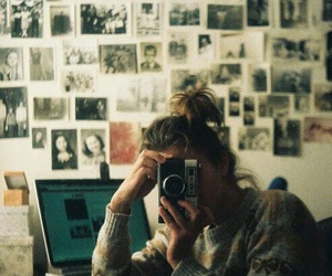 girl, photography, and photo image