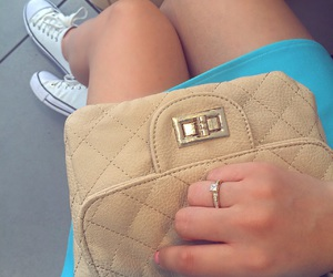 bag, engagement, and gold image