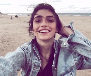 girl, sea, and smile image