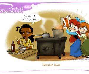 disney, pocket princesses, and anna image