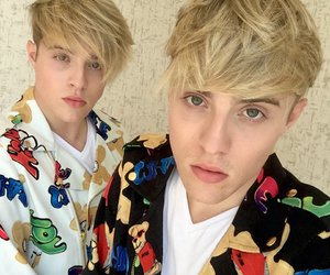 jedward are in london! image