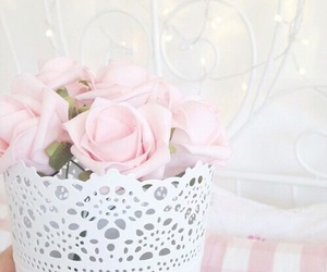 pink, pastel, and rose image