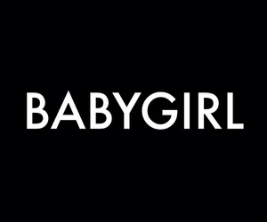 babygirl, black, and quotes image