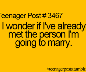 marry, wonder, and quote image