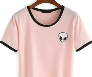 pink, fashion, and alien image