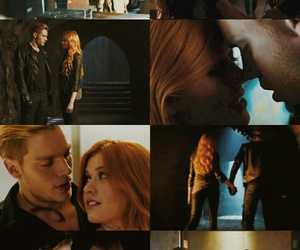 clary fray, jace herondale, and lockscreen image