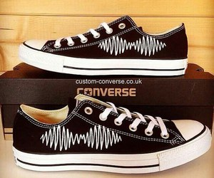 converse, cool, and black image