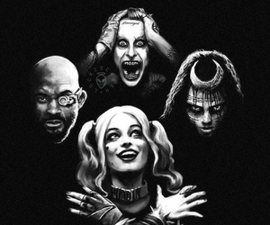 joker, suicide squad, and enchantress image