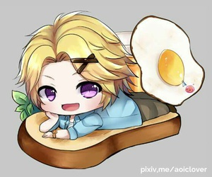 yoosung, cute, and otome image