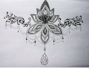 drawing, ideas, and tattoo image