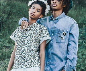 jaden smith, willow smith, and smith image