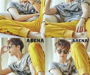 actor, magazine, and korean boy image