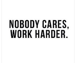 care, nobody, and work image