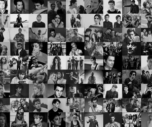 actors, b&w, and fall out boy image