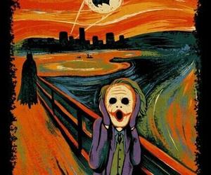 batman, joker, and art image