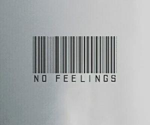 feelings, sad, and no feelings image